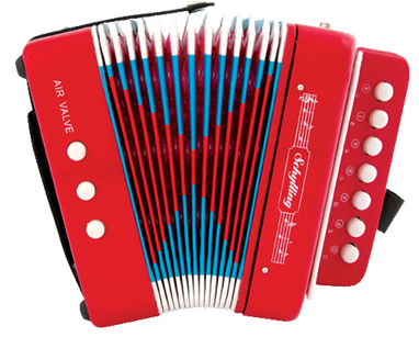 Schylling Little Red Accordion
