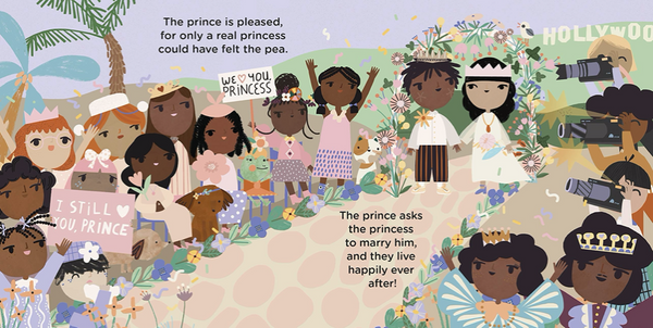 Bedtime Classics: The Princess and the Pea - TREEHOUSE kid and craft