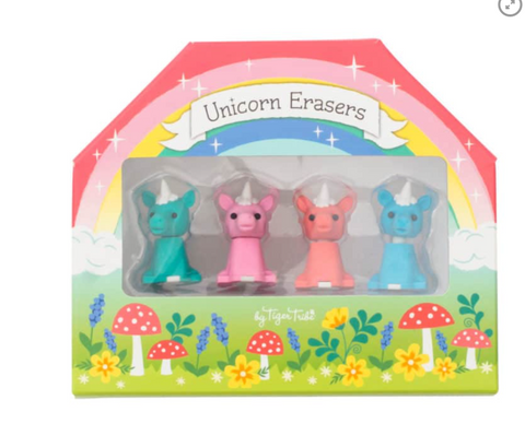 Unicorn Erasers - TREEHOUSE kid and craft