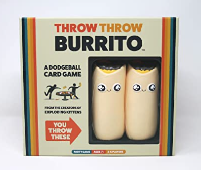 Throw Throw Burrito by Exploding Kittens! - TREEHOUSE kid and craft