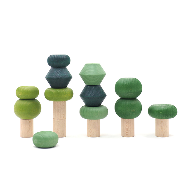 Lubulona Stacking Trees (Multiple Colors) - TREEHOUSE kid and craft
