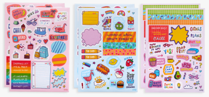 Sticker Stash Quirky Fun - TREEHOUSE kid and craft