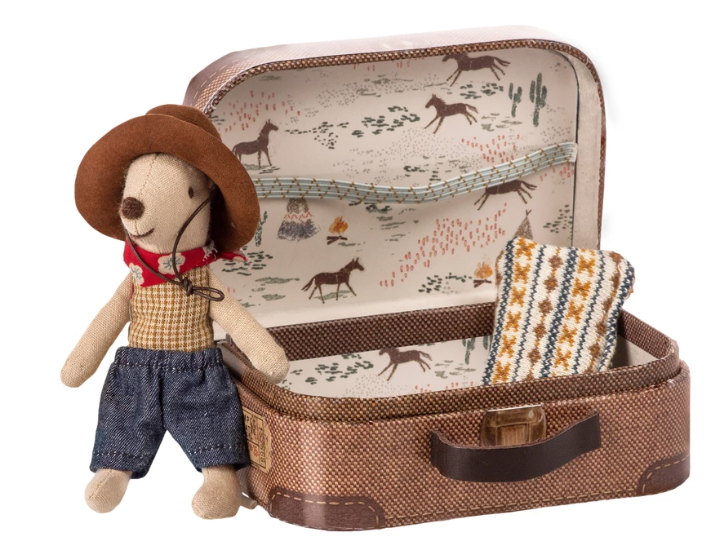 Mouse in Suitcase