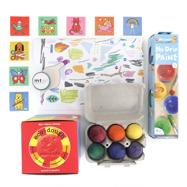 ART PANTRY ages 1-3 years - TREEHOUSE kid and craft
