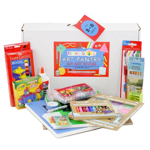 Copy of ART PANTRY ages 1-3 years - TREEHOUSE kid and craft