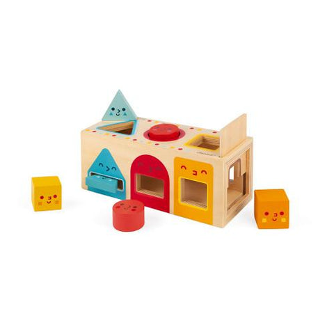 Geometric Shapes Block - TREEHOUSE kid and craft