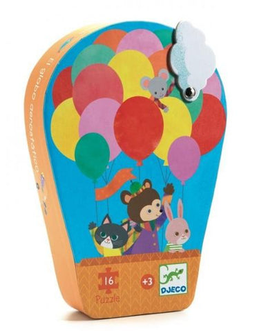Silhouette The Hot Air Balloon - TREEHOUSE kid and craft