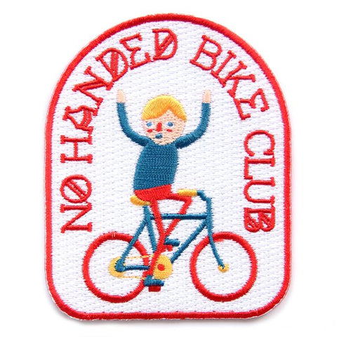 Bike Club Iron on Patch