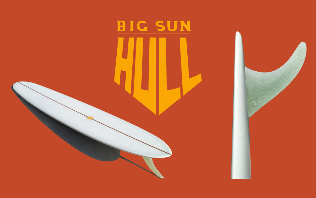 BIG SUN HULL: HYDRODYNAMIC VS AERODYNAMIC RAIL DESIGN