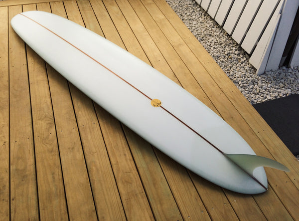 Used Big Hotdogger Pin Tail - 9'2 Volan Cedar Stringer