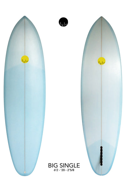 Used Big Single - 6'2 Coral Blue