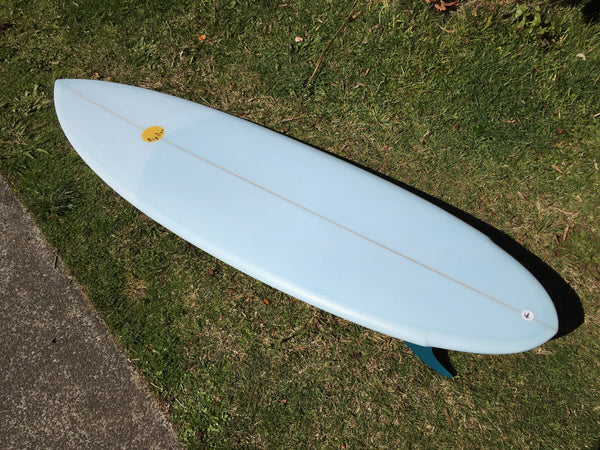 Big Twin Pin - 6'0 Ice Blue