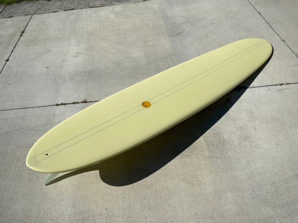 9'6 Hotdogger - Mellow Yellow Pigment with Double Balsa Stringer
