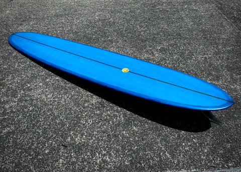 Big Sun Involvement Era Log - 9'7 Cobalt Blue with 10'5 Inch Logger