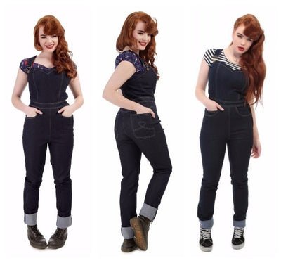How to Style: Vintage Dungarees for All Occasions