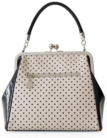 Banned Retro 1950's Polka Starr Frances Blush Handbag