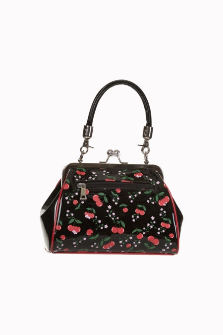 Banned Retro 50s Style New Romantics Cherry Handbag