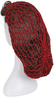 Banned Retro Dorothy 1940s Red Crochet Hair Snood Hair Net