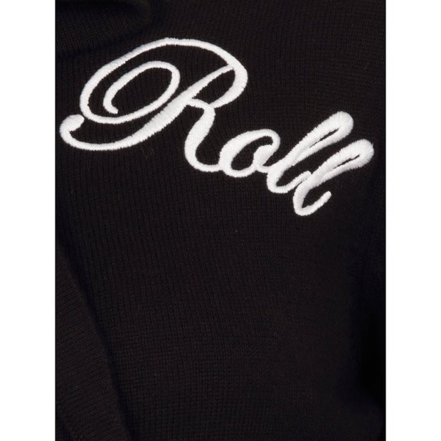 Collectif 50s Charlene Rock Roll Black Cardigan