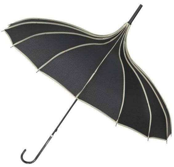 Collectif Everly Vintage Black Umbrella