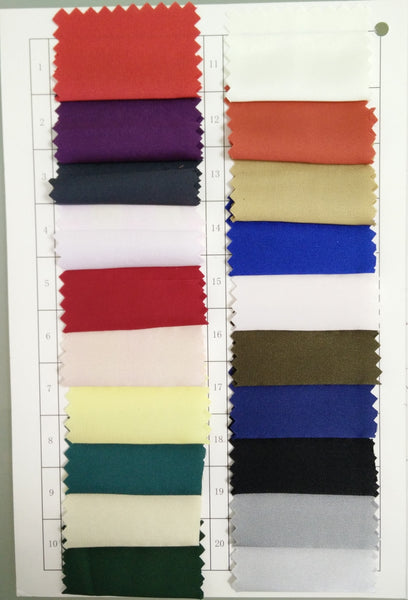 Standard Fabric: Charmeuse 01-20