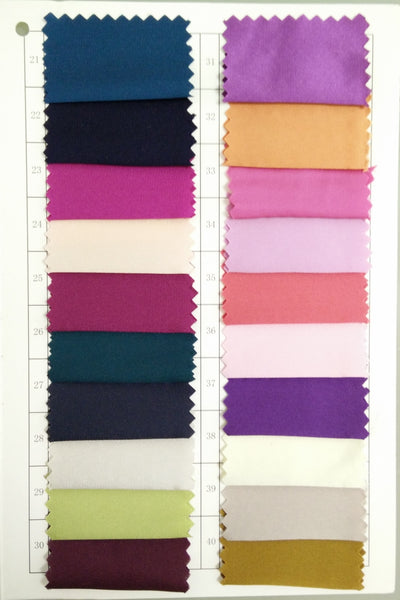 Standard Fabric: Charmeuse 21-40