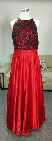 Evening Dress Designed by Client