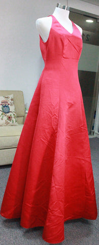 Satin Evening Dress designed by Client