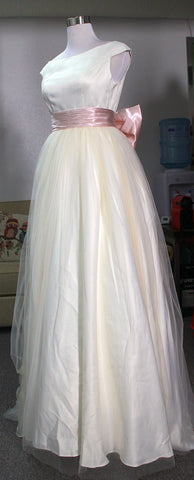 Simple Wedding Dress we made
