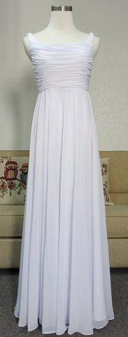 White Evening Dress we made