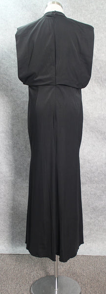 Black Evening Dress we made