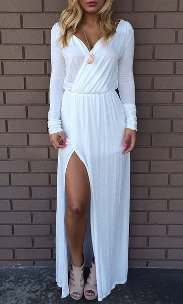 Long Sleeve Maxi Dress for Shanise
