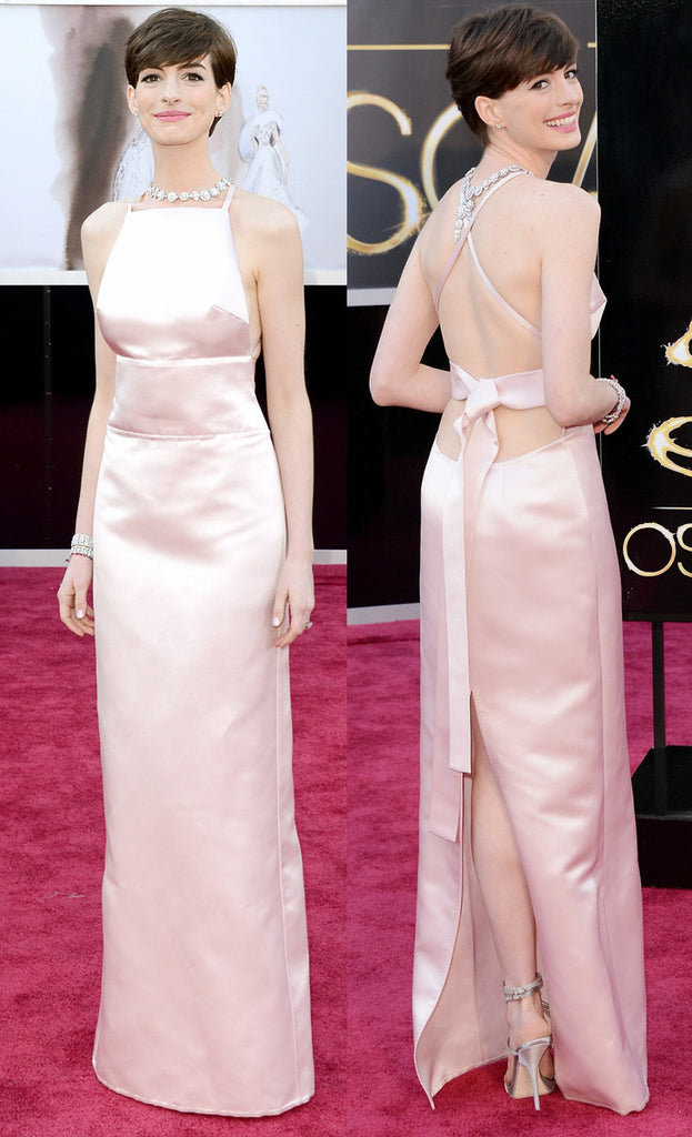 Dress like the Prade worn by Anne Hathaway in 2013 Oscars