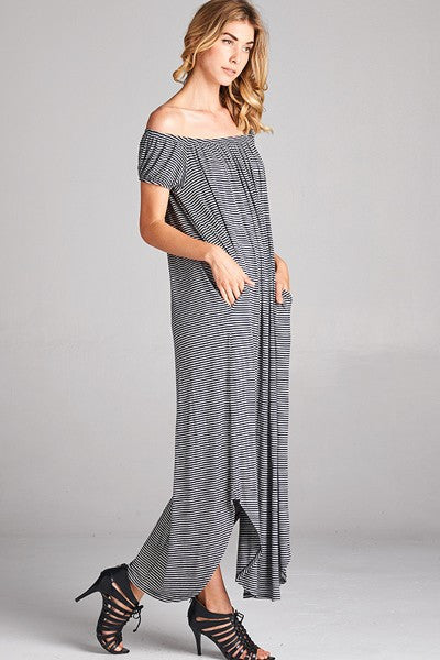 Vicky Maxi Dress with Pockets
