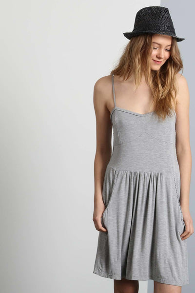 Summer Slip Dress with Pockets