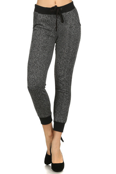 Textured Sweatpants with Pockets