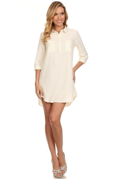 Kate Shirt Dress with Pockets