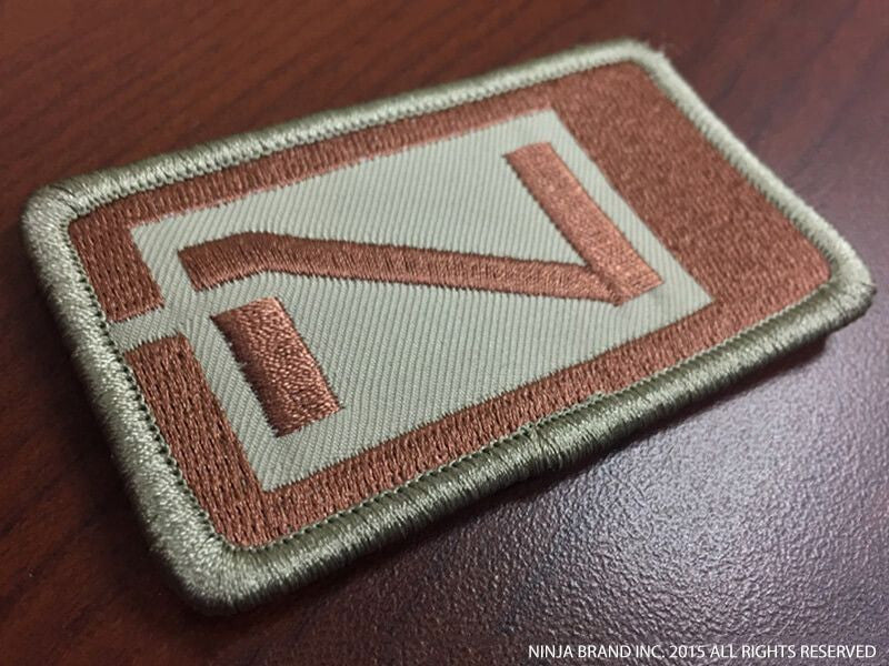 Ninja Logo Patch - Combat Mission Flown