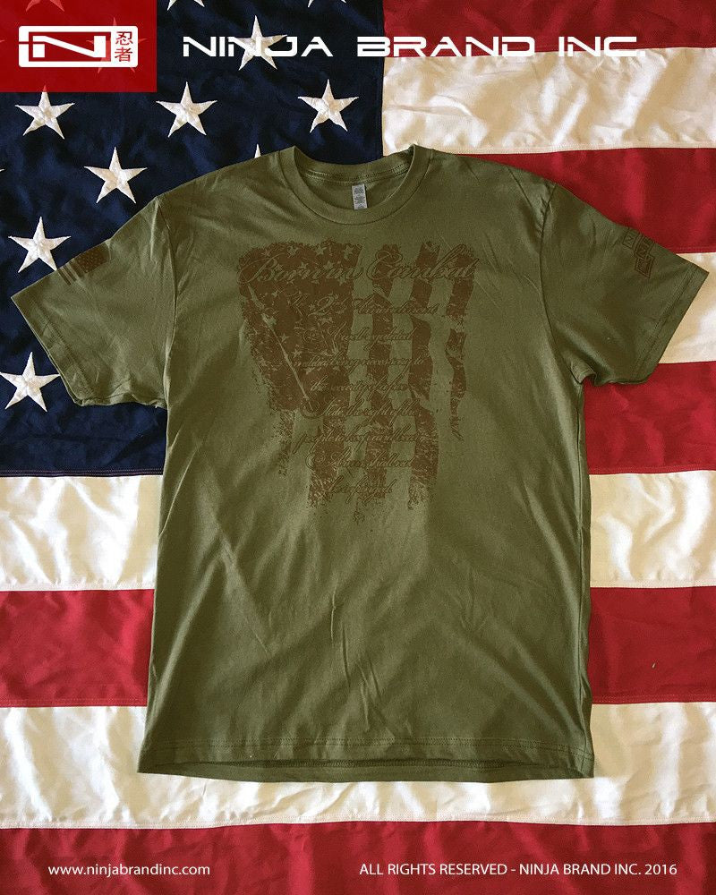 Men's 2nd Amendment - Born in Combat T-Shirt