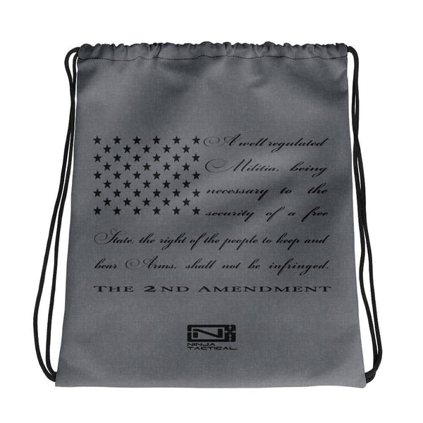 2nd Amendment Drawstring bag
