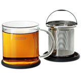 FORLIFE Glass Brew-in-Mug