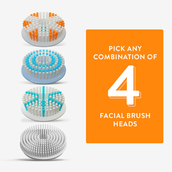 Facial Brush Refill Bundle