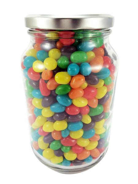 Large Glass Jar of Jelly Beans (1 litre)