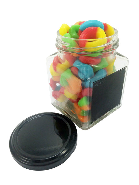 Fancy Jar of of Ringlet Sweets (260 ml)