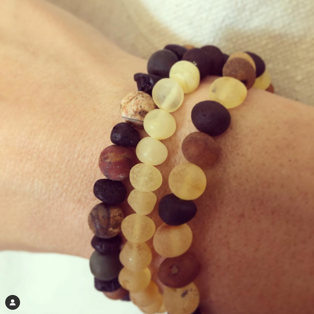 Baltic Amber Aromatherapy Bracelet for Adults 1