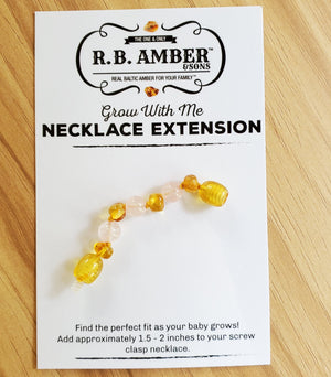 Baltic Amber Jewelry Extender