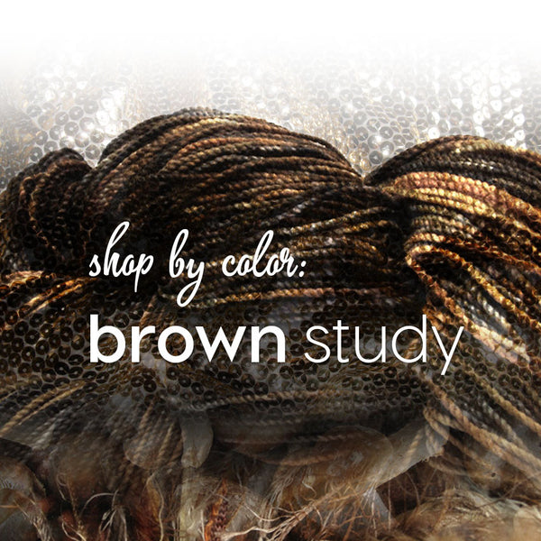 Shop by Color: Brown Study