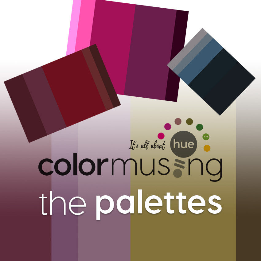 Colormusing: The Palettes