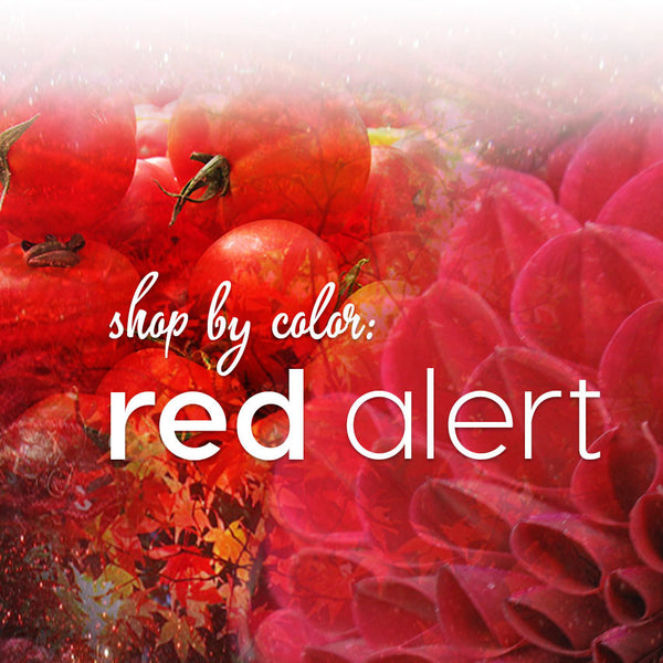 Shop by Color: Red Alert