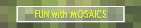 Mosaic used in blog header